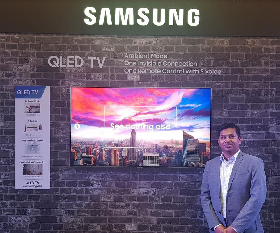Samsung launches 2018 line-up of televisions in Gujarat including high-end QLED and curved UHD TV