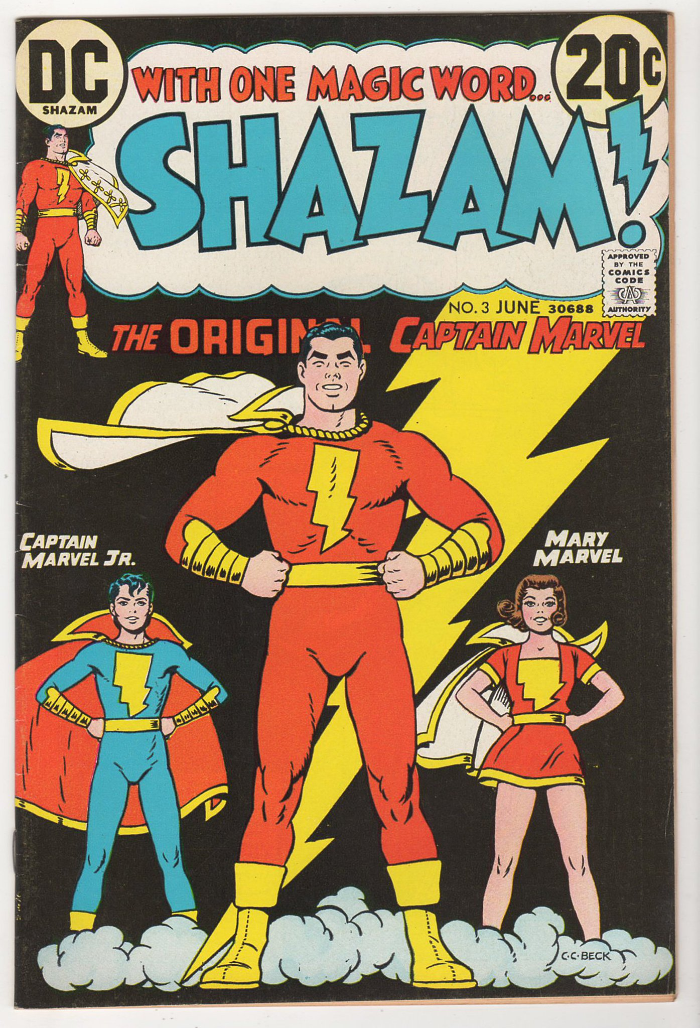 Joy And Ed On Twitter Shazam 3 Dc 1973 Fn Vf 7 0 Our