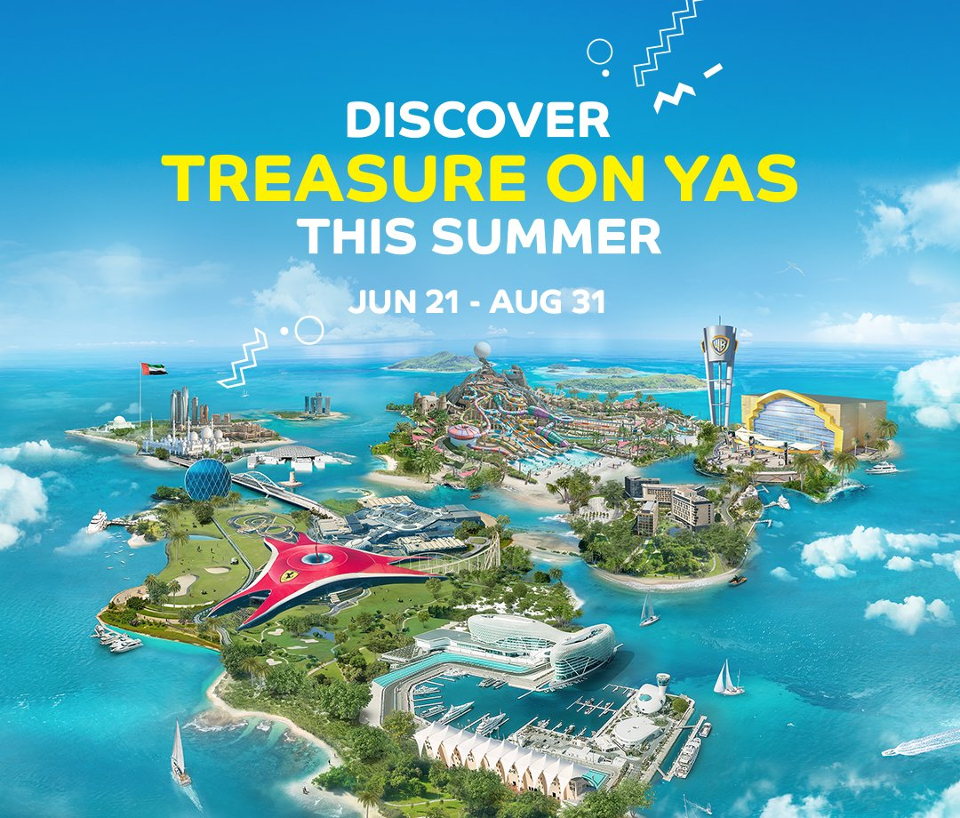 "Yas Island جزيرة ياس On Twitter: ""Visit, Play And Win The"