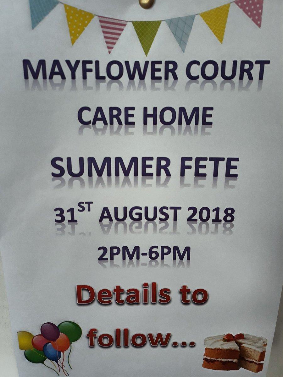 Mayflower Court Twitter post