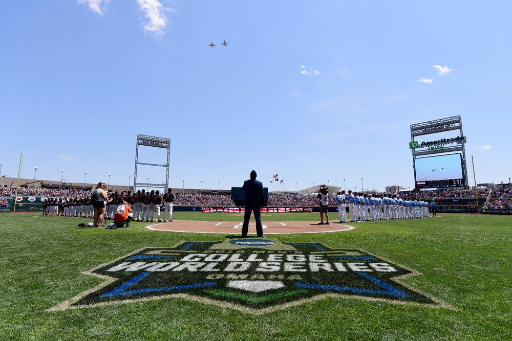 Omaha! ESPN's viewership of the College World Series (@NCAACWS) is up 12% from last year through the first five games, averaging 929,000 viewers a game.