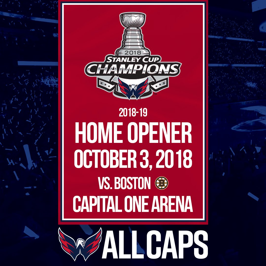 Stanley Cup-winning Capitals won't get to troll Penguins with home-opener banner raising