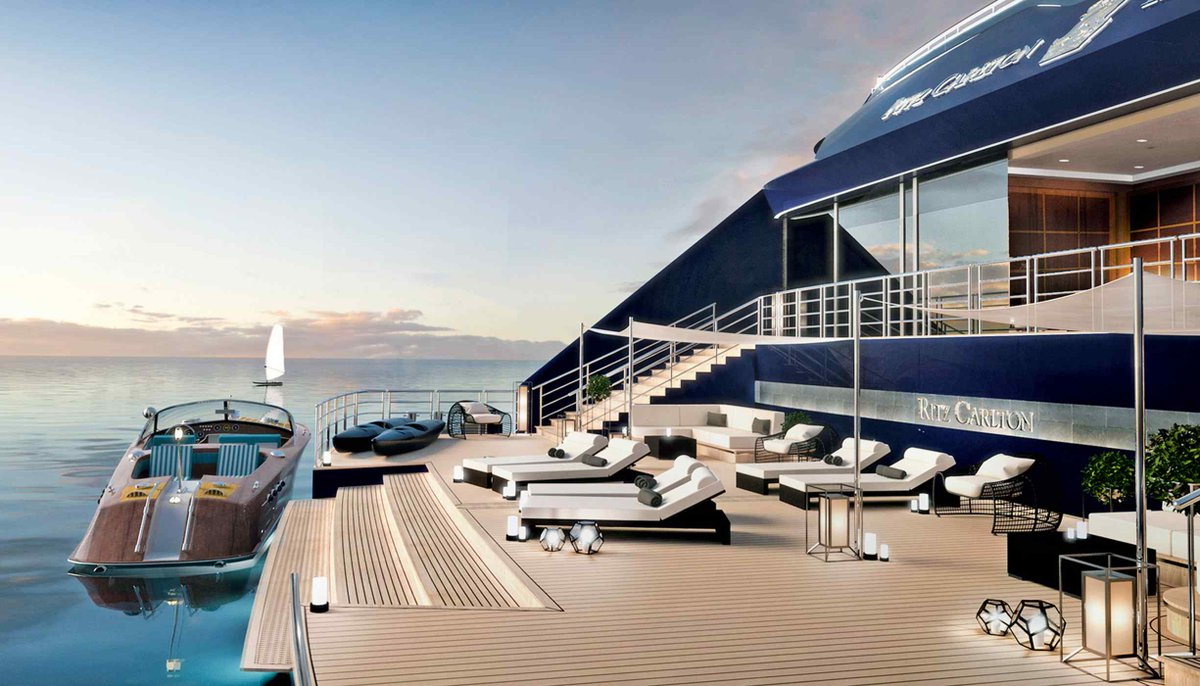 Ritz-Carlton sprinkles some gold dust on the waves. The first hotel brand to offer #luxury, tailormade experiences on land &amp; at sea opens bookings for 2019. via @htsi  http:// bit.ly/2tf7DIl  &nbsp;   #news #luxurynews #yachting<br>http://pic.twitter.com/R6aQCvxFCx