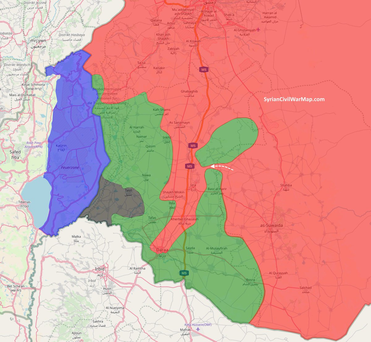Syrian Civil War Map CivilWarMap Twitter