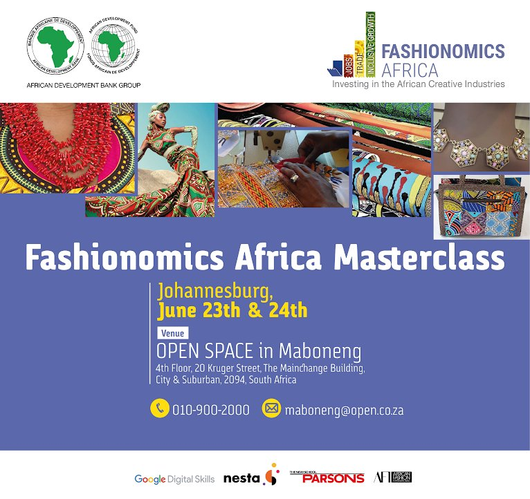 The New School On Twitter If You Re In Johannesburg Join Bfa Parsons Fashion Systems And Materiality Director Brendan Mccarthy In A Masterclass With Afdb Group Titled What S At Stake How Can We Re Imagine The