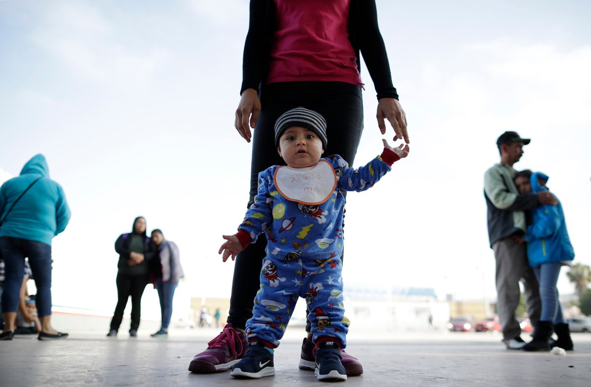 Michigan says babies as young as 3 months old are arriving at temporary shelters there after being separated from their parents at the border.