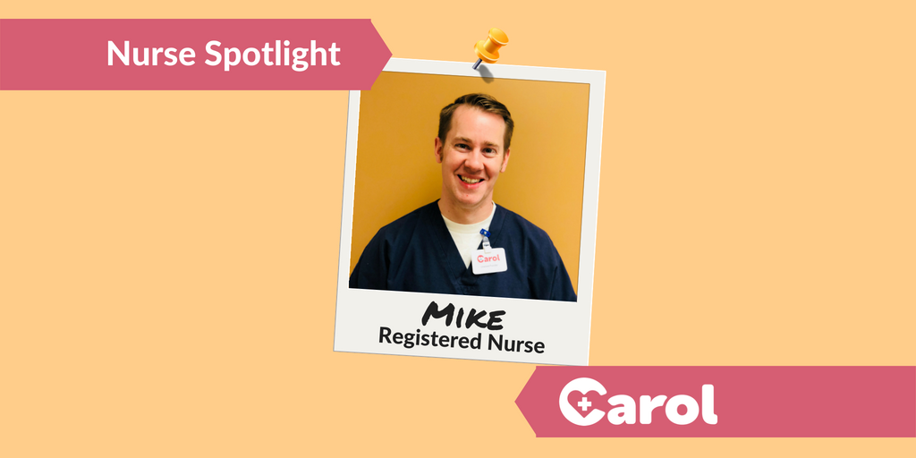 &quot;I feel like I'm benefiting from the patients I care for as much as they're benefiting from the care I'm providing.&quot; - Mike, RN  Read Mike&#39;s story:  https:// blog.carolhealth.com/i/  &nbsp;  <br>http://pic.twitter.com/pD47Eab47Z