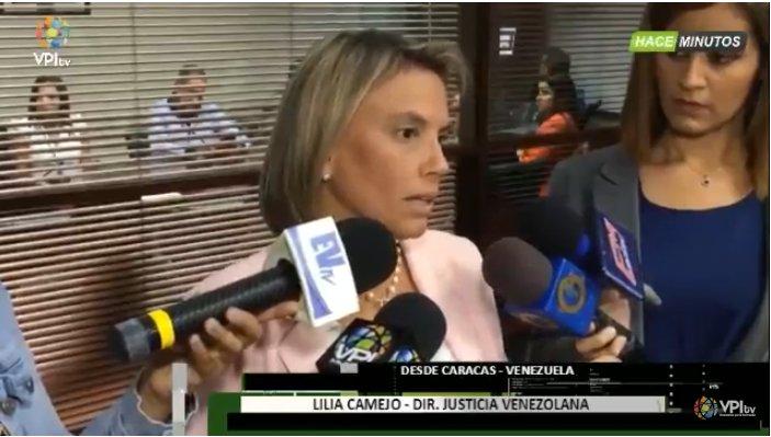 #20Jun Lilia Camejo, Directora de justicia Venezuela, acudió a la  para denunciar el caso de 20 militares activos que fueron detenidos sin ser culpables de ningún delito, según declaró  https://t.co/mTn7Z7zmmA -