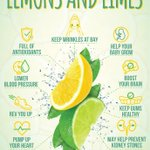 Lemons and limes are chock-full of nutrients that can keep you healthy. 🍋 https://t.co/B3iLes4B6B