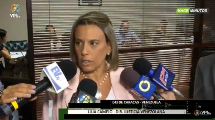 #20Jun Lilia Camejo, Directora de justicia Venezuela, señala que en el caso del M/G Rodríguez Torres la audiencia fue diferida  https://t.co/ZlsQ83bhLU -