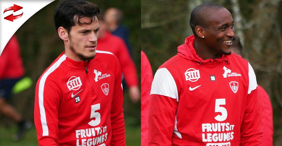 Pierre Magnon et Donovan Léon