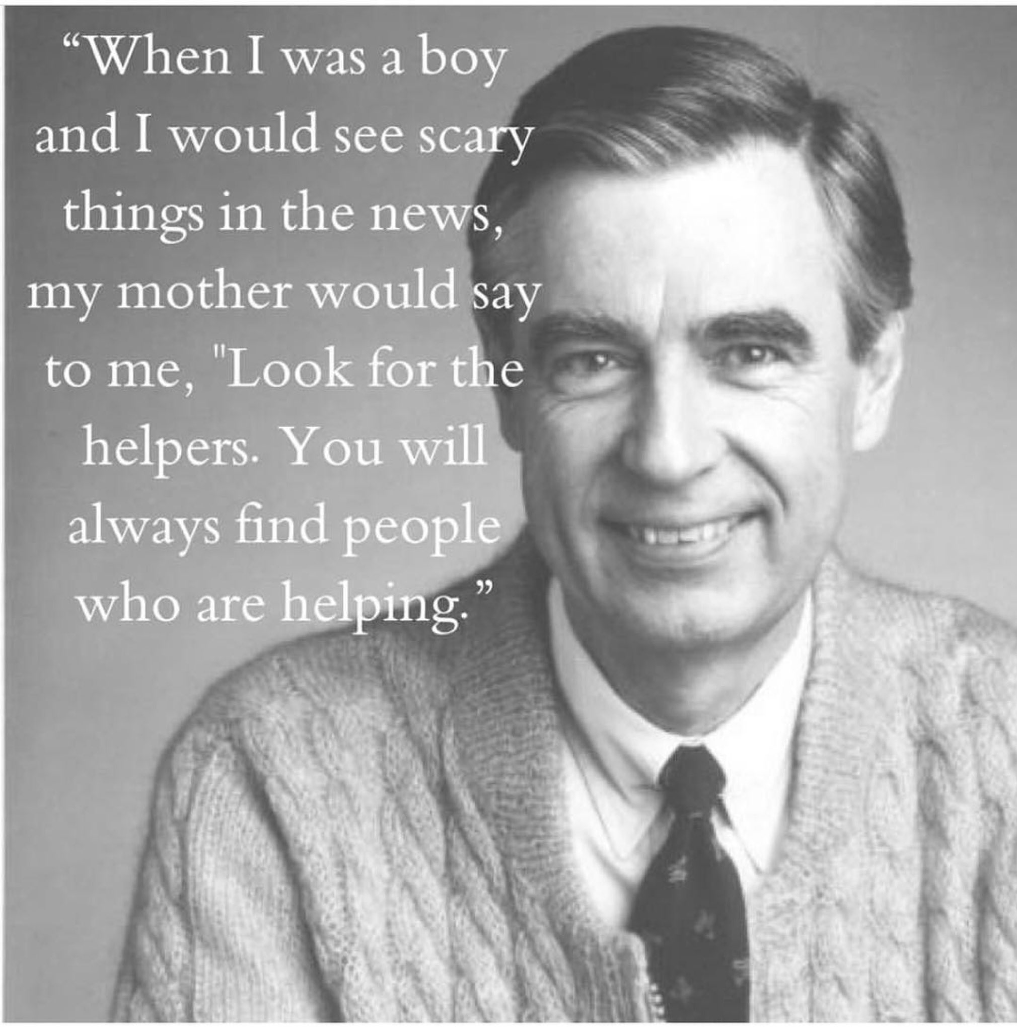 Thank you, Mr. Rogers and Mr. Rogers mom. ❤️❤️ https://t.co/1pHZrwZKnO