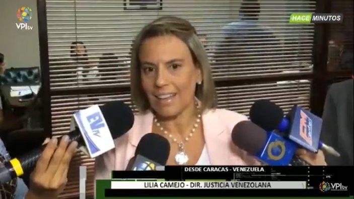 #20Jun Lilia Camejo, Directora de justicia Venezuela,  denuncia que han tenido caso de detenidos que han llegado a las audiencias con marcas de torturas, tratos crueles e inhumanos https://t.co/elrDzbvztt -
