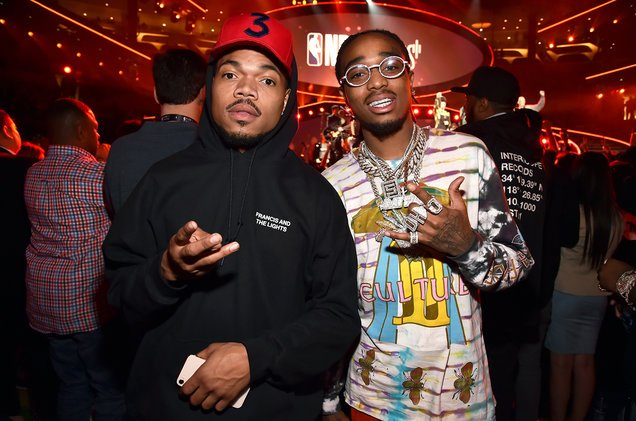 Quavo hints at new collaboration with Chance the Rapper and Justin Bieber https://t.co/MhWYsrluNi https://t.co/R7yzSG8AwB