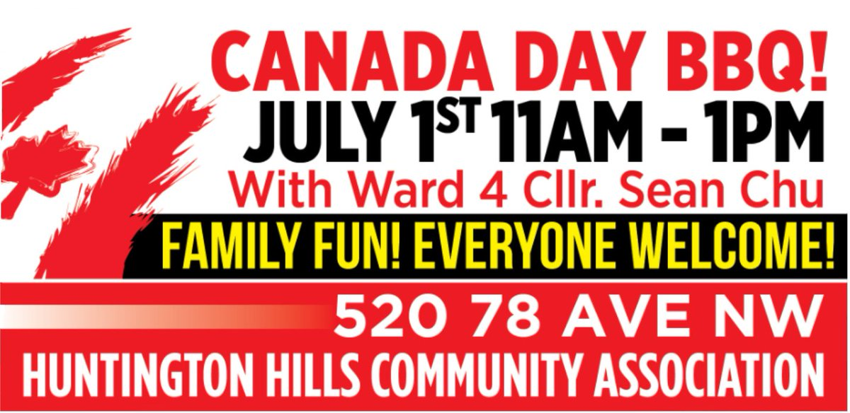 Hey #ward4 I am hosting a Canada Day BBQ w. our amazing @MichelleRempel - family fun, a great band, and of course BBQ! Everyone is welcome! See you there! #yyc #yyccc #CanadaDay<br>http://pic.twitter.com/APmFQlGAEf