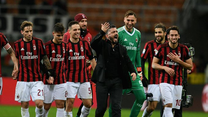 Milan arriesga ser expulsado de la @EuropaLeague Photo