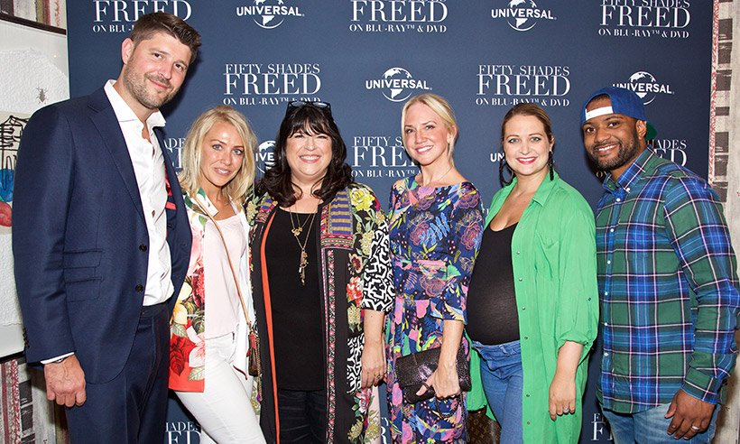 Find out what happened at our exclusive #FiftyShadesFreed film screening... https://t.co/r0TJxWKqdJ