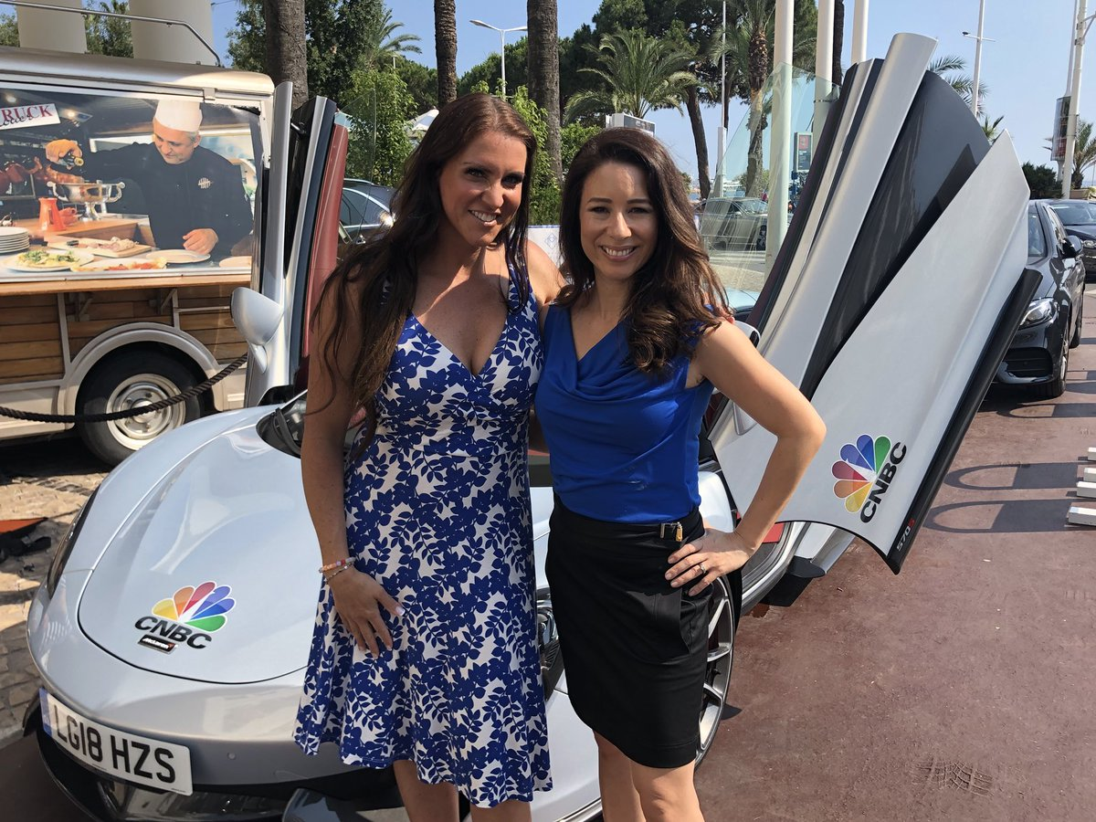 Stephanie Mcmahon On Twitter So Cool Driving Around With This Hot Mama Cnbckaren In A Mclaren 570s Around Canneslions For Whatdrivesyou