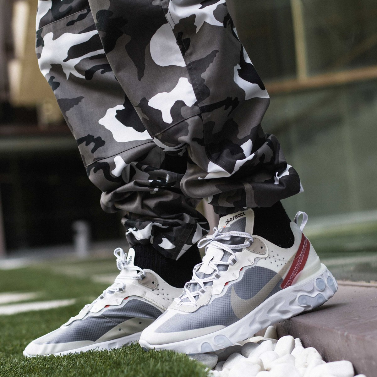 93807c11be61 What s your natural reaction  https   t.co rdTEBm6xSm ⠀⠀⠀⠀ Nike React  Element 87 drops Thursday at 9am CET online   11am CET in store.  nike   nikereact ...