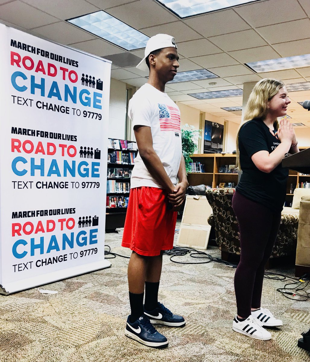 RT @AMarch4OurLives Having amazing discussions with Iowa students this morning! Making connections and having these conversations on how we can unite is the key to making change. #RoadToChange