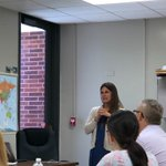 Image for the Tweet beginning: FBES teachers presenting on K/1