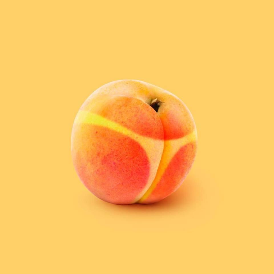 Персики прикольная картинка