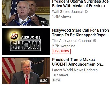 Hey @Google and @YouTube: Your famous algorithm is glitchy if while I&#39;m watching the Senate Intel committee, you suggest I watch Alex Jones. <br>http://pic.twitter.com/R3Z6LN7ivf