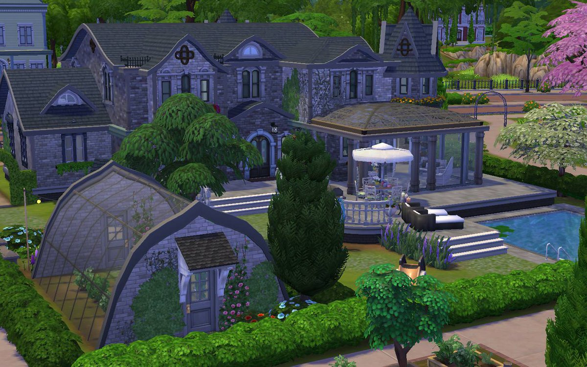 sims 4 greenhouse