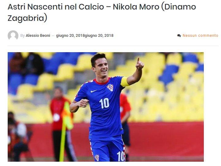 Presto fuori.#Moro #Dinamo #Zagreb #calcio #AstriNascenti  - Ukustom