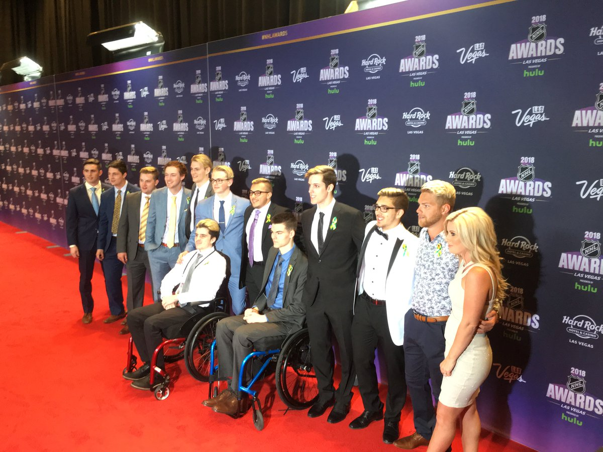 Humboldt Broncos's photo on #NHLAwards