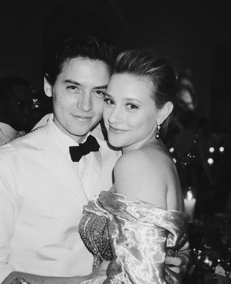 lili reinhart and cole sprouse  met gala; may 2018 <br>http://pic.twitter.com/dHfQT0TGZr
