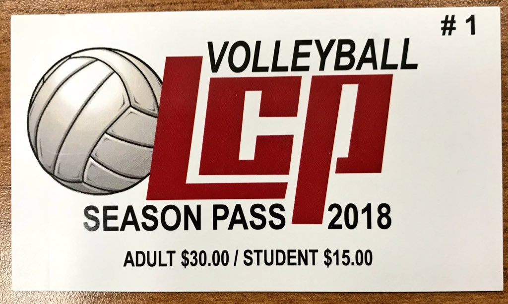 LCP Volleyball Season Passes are now for sale in the Athletic Department Office (Cash or Check only)Discounted prices of $30 for adults and $15 for students gets you into all LCP volleyball home games. @MKattwinkel @LCISDtweets @LCISDlchs @Pirate_Pride<br>http://pic.twitter.com/QAxj2ZFhd3