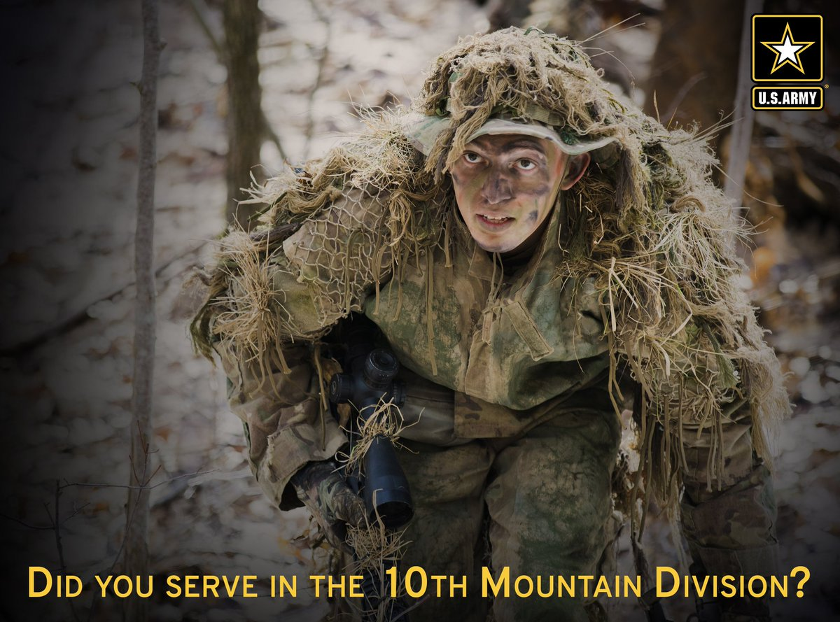 27725a0e1 ... 10th Mountain Division  today is mountainfest a salute to the troops of  the drum10thmtn did you serve in the
