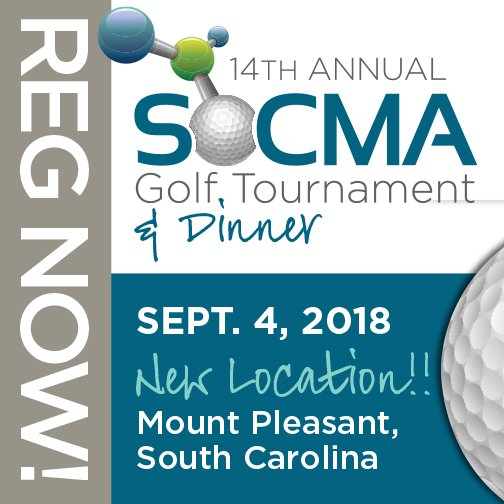 Did you hear? #SOCMA's 14th Annual Golf Tournament & Dinner will be September 4, 2018 @DWGolfClub in Mount Pleasant, SC! Head south with us for a day on the greens & great networking! Photo