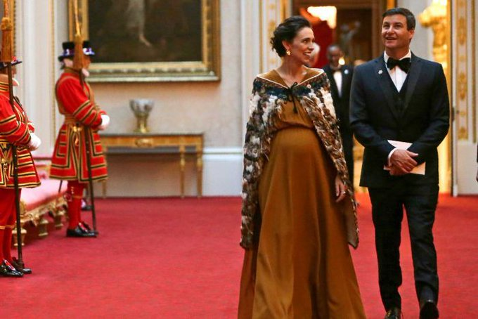 Jacinda Ardern, New Zealand Prime Minister, enters hospital for birth of first child Pic: Pool via Reuters Photo