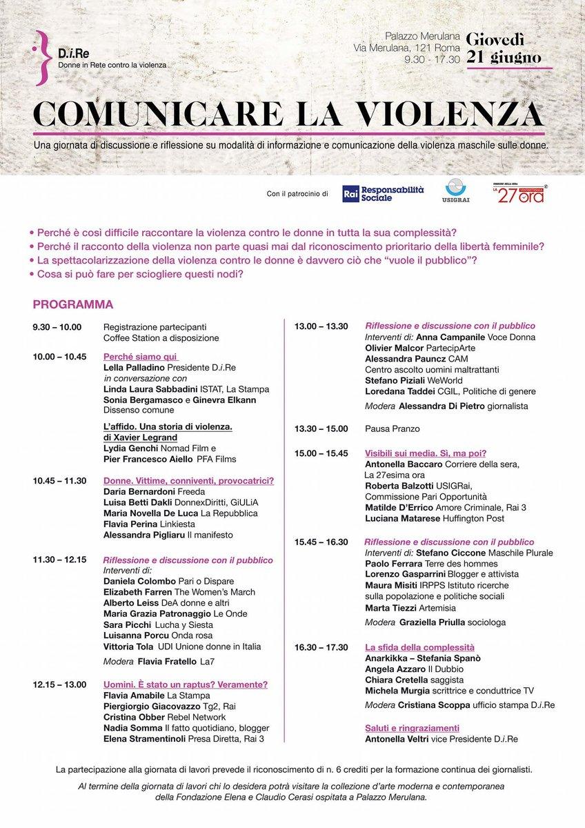 Domani @cristinaobber socia fondatrice #RebelNetwork sarà relatrice alla assemblea nazionale di @direlaviolenza . Appuntamento da non perdere per chi è a #Roma.  #donne #diritti  - Ukustom