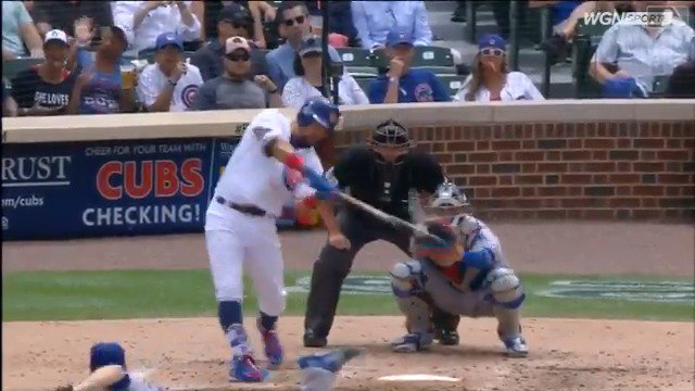 .@kschwarb12 ties Javy for the team lead with HR No. 14. #EverybodyIn https://t.co/c7Kr31SvFt