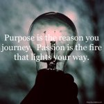 Purpose is the Reason You Journey... #D123 #edchat #edtech #cpchat #suptchat #pblchat #ntchat #kinderchat #elemchat #mschat #hschat #mathchat #scichat #engchat #sschat #swchat #earlyed #ellchat #spedchat