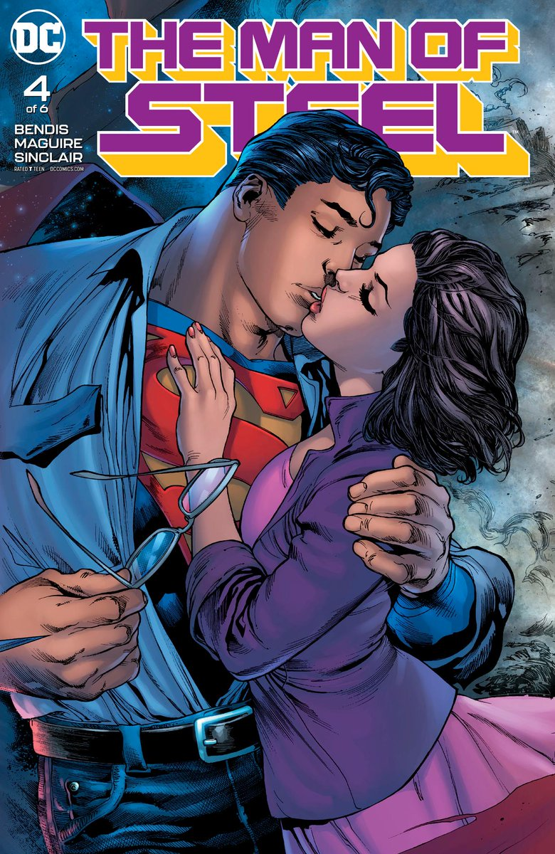 Artist @maguirekevin chats with @Newsarama about reconnecting with @BRIANMBENDIS to bring Superman to life in THE MAN OF STEEL #4, out now: bit.ly/2tnsLLF
