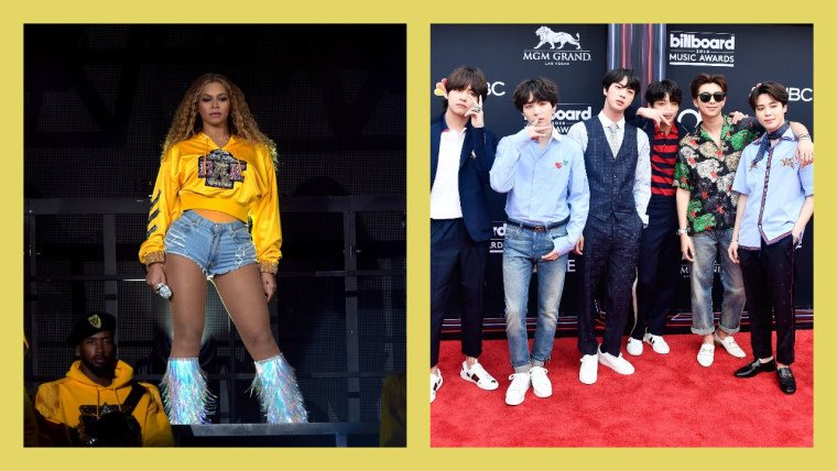 Beyoncé and BTS stans have linked up to dominate all streaming #ARMYHiveProject.  https://t.co/pmiqKHIgIp https://t.co/RpKs7LsWAw
