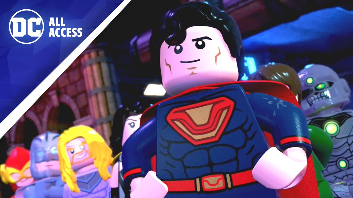 #DCTV star @EchoK joins #DCAllAccess to check out the upcoming @LEGODCGame LEGO DC SUPER-VILLAINS! And @JimLee stops by to preview this weeks new comics, including JUSTICE LEAGUE #2 and THE MAN OF STEEL #4! bit.ly/2K6RNWv