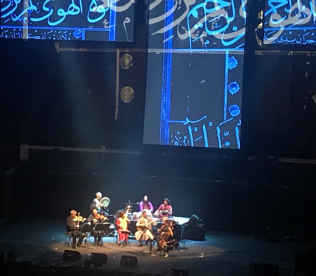 Beautiful contemporary performance of the classical musical heritage by the Afghan master musicians Salar Nader on Tabla and Homayoun Sakhi on Rubab with other Central Asian stars at the magnificent @RoyalAlbertHall, honouring H.H the Agha Khan 60th Jubilee.