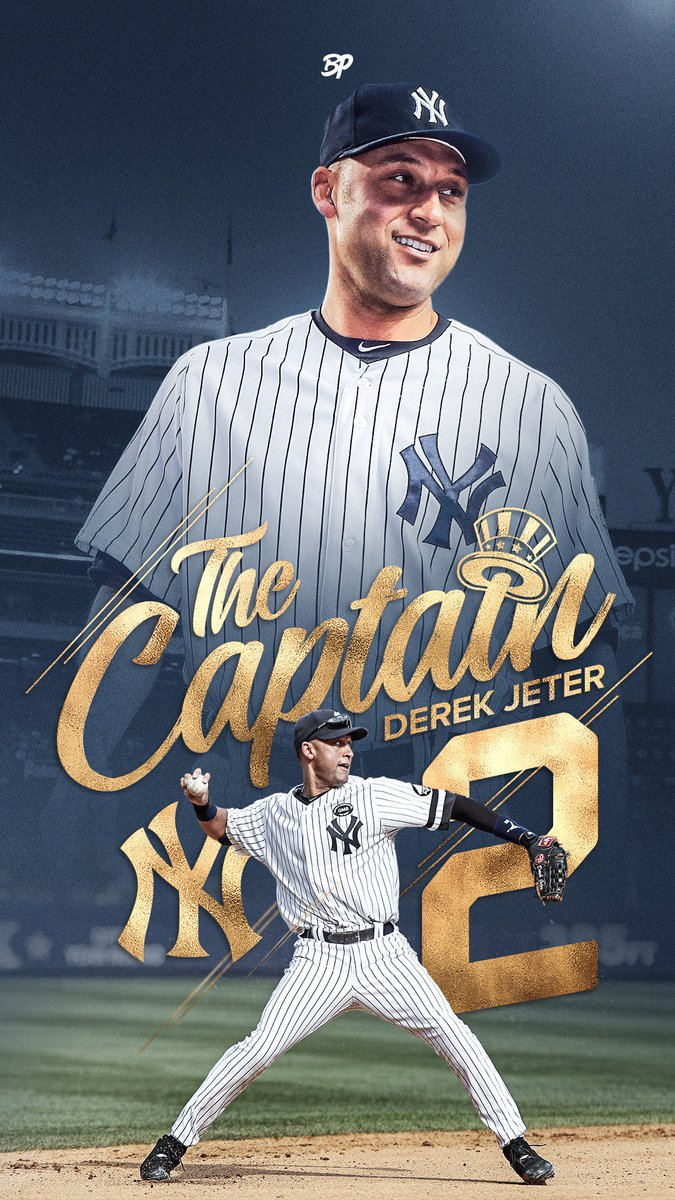 Bronx Pinstripes On Twitter Throwing It Back This Week After Many Requests With The Captain Himself Derek Jeter 2 Pinstripepride Wallpaperwednesday Https T Co 4wrcofhms2