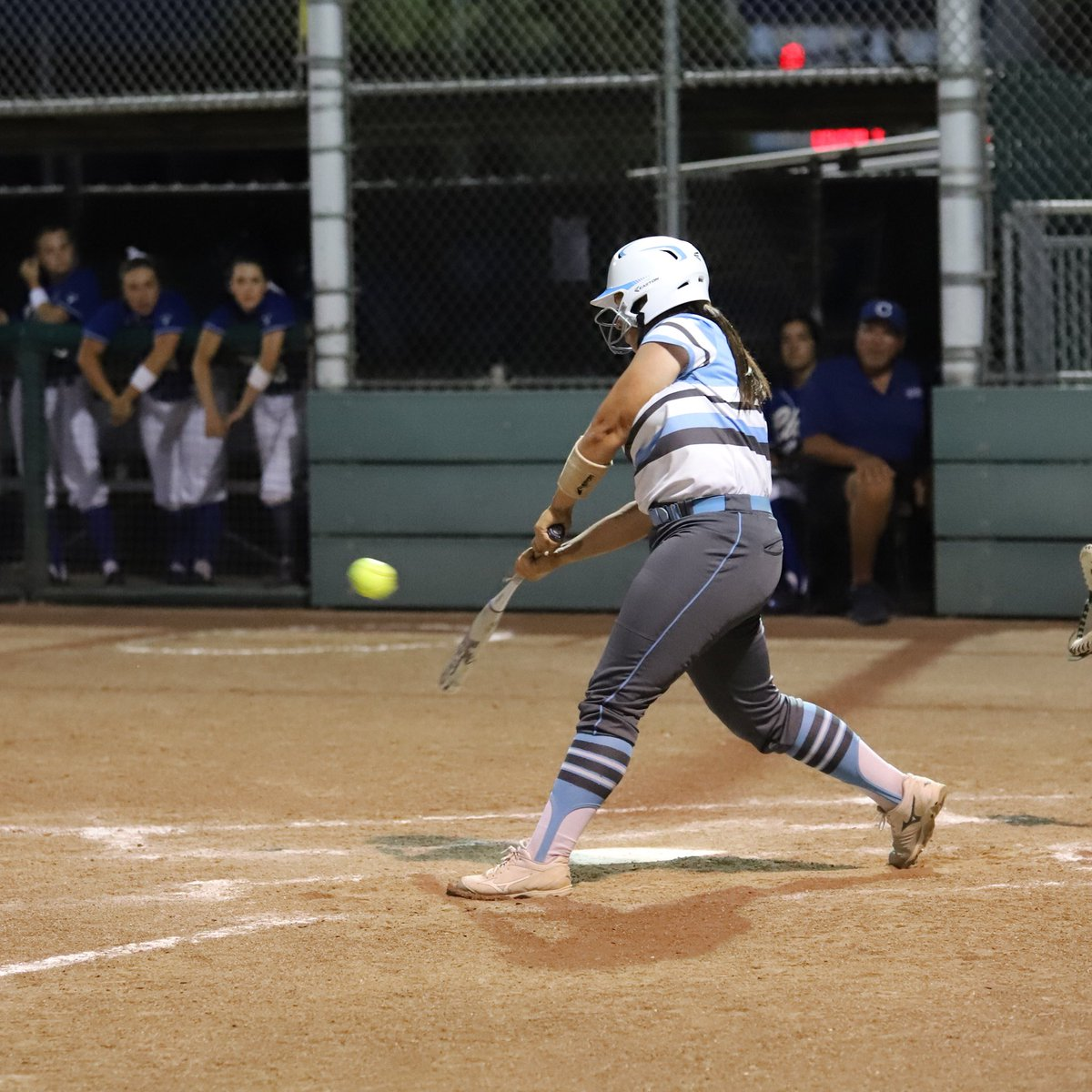 Tonight our CN alum Madi Avery will represent CN softball for one last time as she plays in the City/County game. The game is at Fresno State &amp; the ceremony starts at 6:45 pm. Also our very own Coach Dale is getting inducted into the City County Hall of Fame!! #BroncoStrong<br>http://pic.twitter.com/eYKJw6UU9Y
