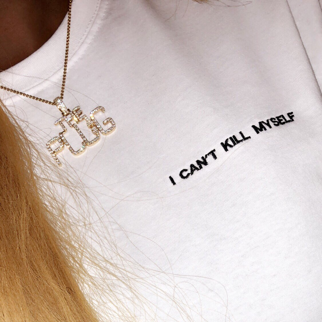 My T-Shirt reflects my mood right now... 💬 #ICantKillMyself