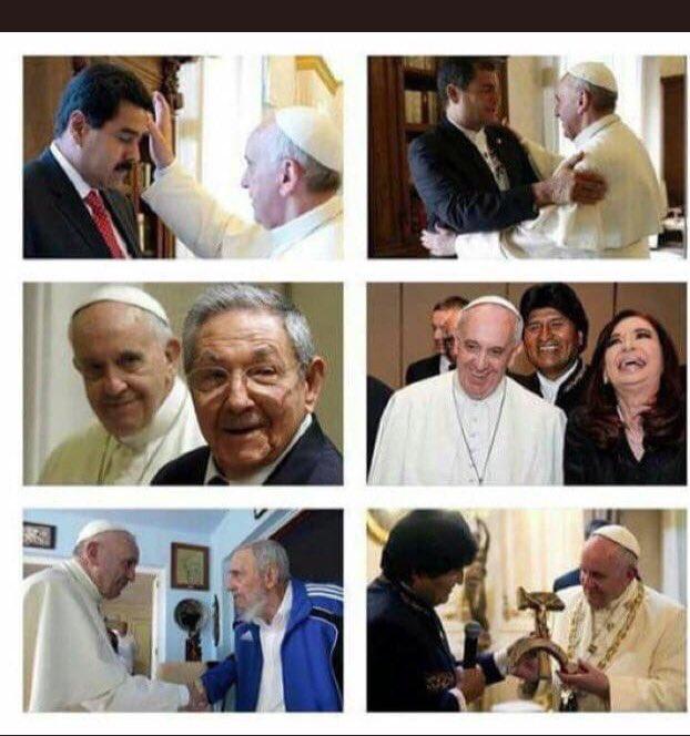 Gli amici di #Bergoglio  - Ukustom