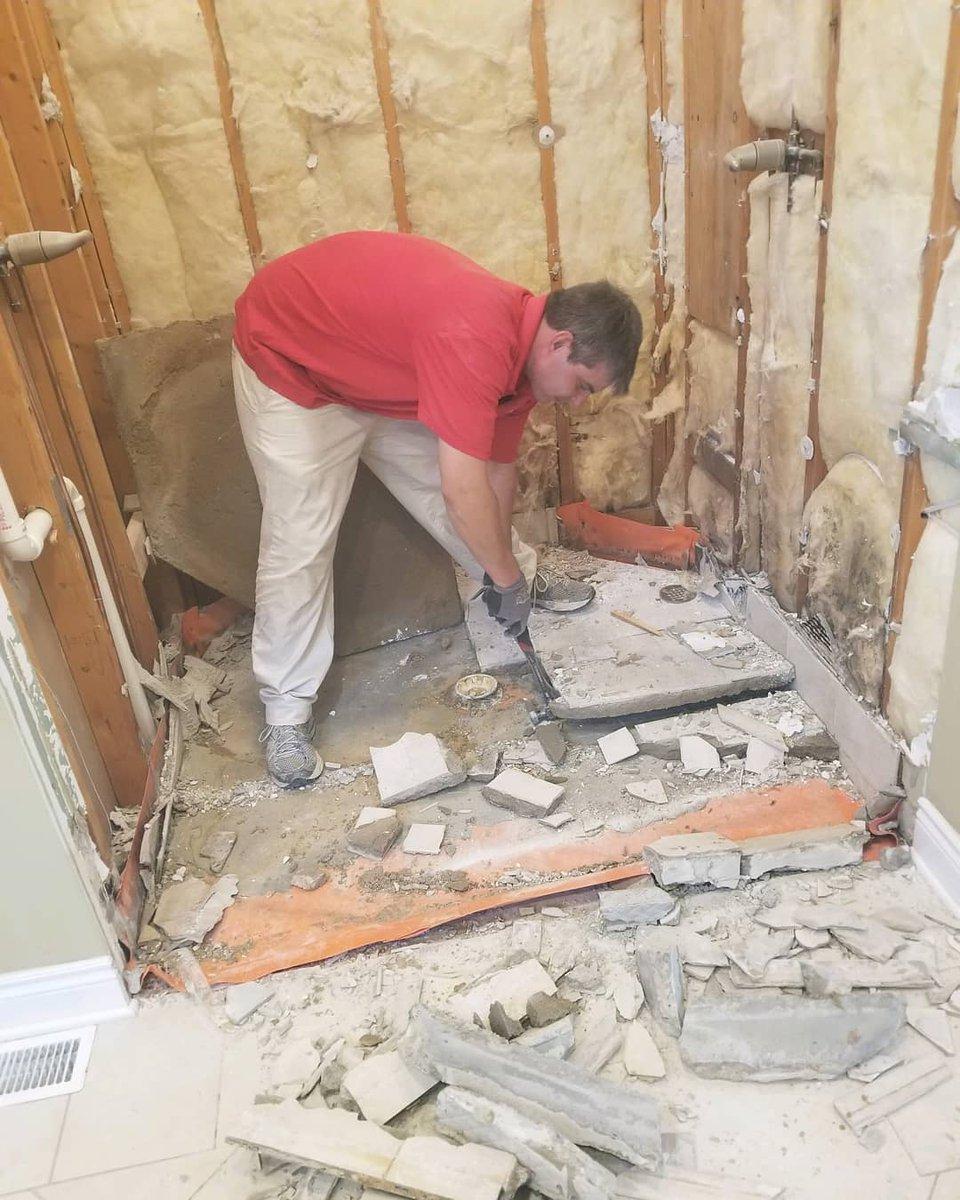 Renovation MD RenovationMD Twitter - Bathroom remodel lawrence ks
