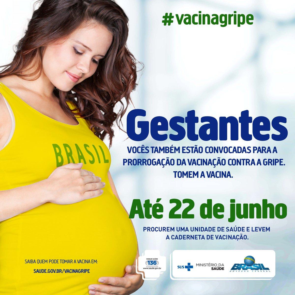 Gente, atenção! Hoje, sexta-feira, é o último dia da campanha da vacinação contra a gripe. Você que faz parte do grupo prioritário não perca essa oportunidade! #VacinaGripe #VacinarÉProteger