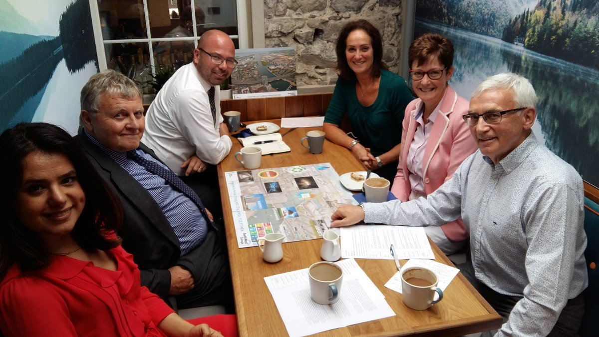 Fun in Browns C Shop as Ballyclare Schools join in a 200 year ICE celebration by building Jigsaw of Belfast with 14 civils themes Thanks - SWC for ICE 200 Jigsaw + @ccea, @FairviewFPS, Ballyclare HS &amp; SS + Pardis @ICE_NIreland @UlsterUni @swccollege<br>http://pic.twitter.com/Zl5B79HgG3