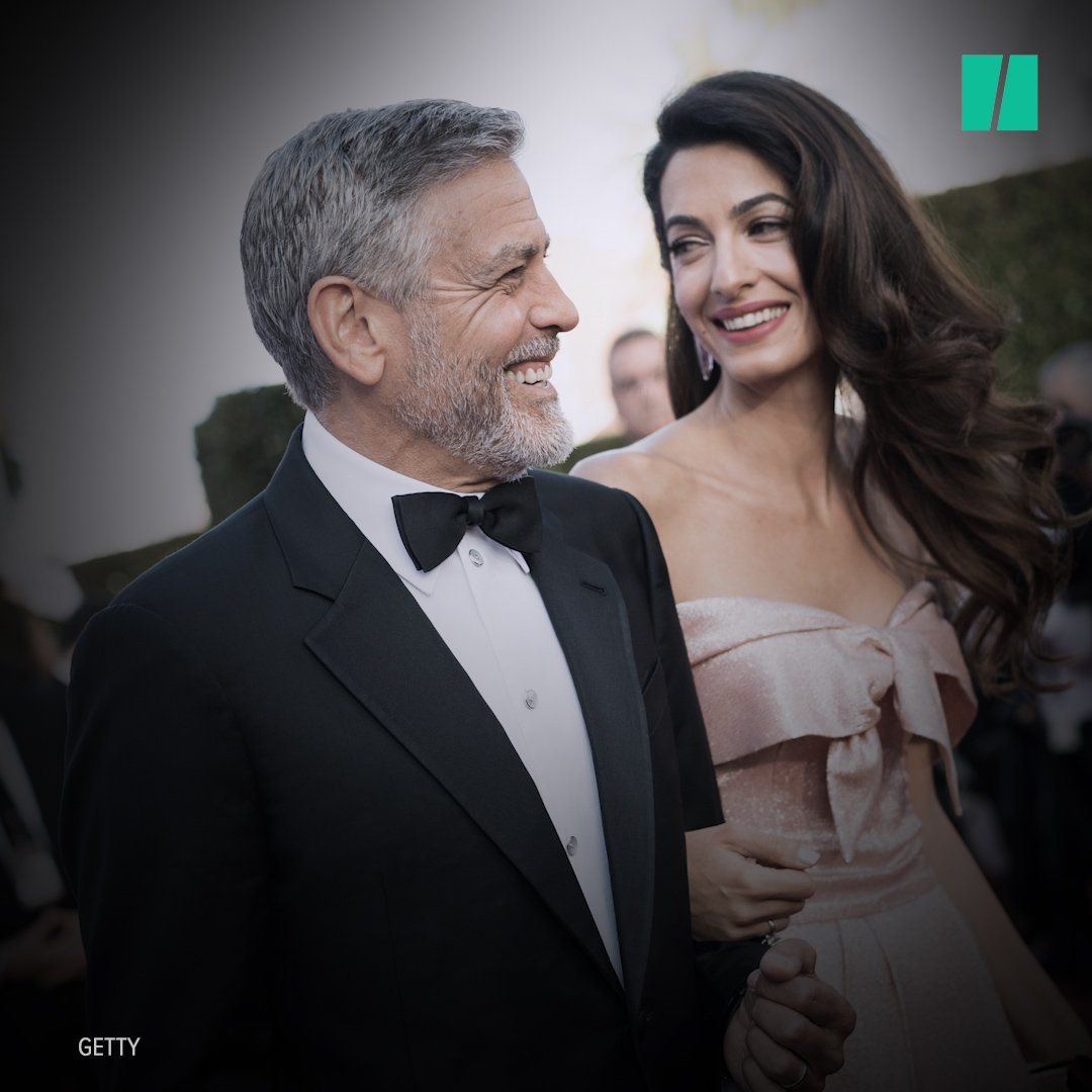 """George Clooney is 'the person whose smile makes me melt every time,"""" says his wife. Same here, Amal. �� https://t.co/j6PUOXiZsj"""